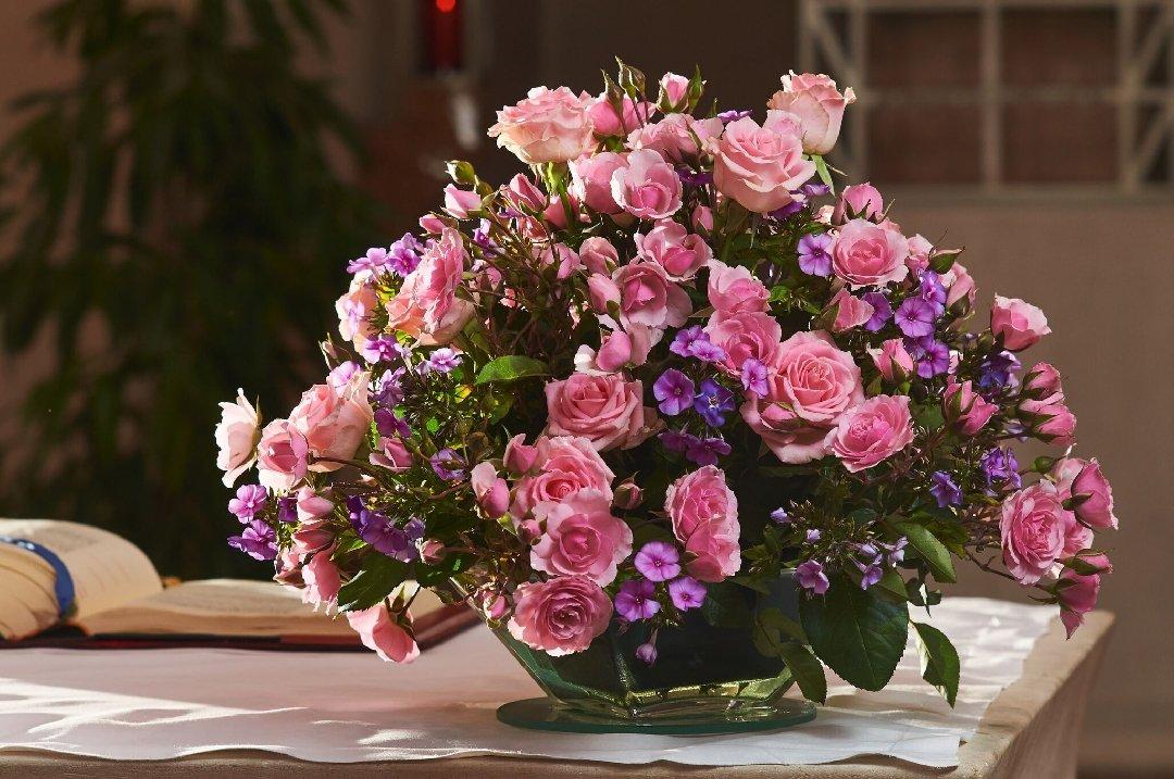 Blumenpatenschaften in der Heilig Geist Kirche