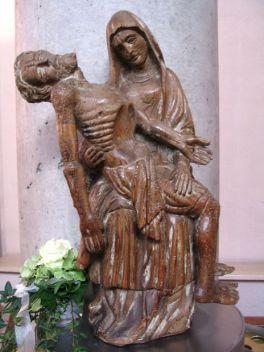 Pietá in unserer Kirche