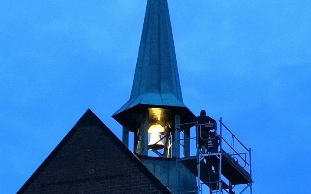 Neue Glocke in Liebfrauen