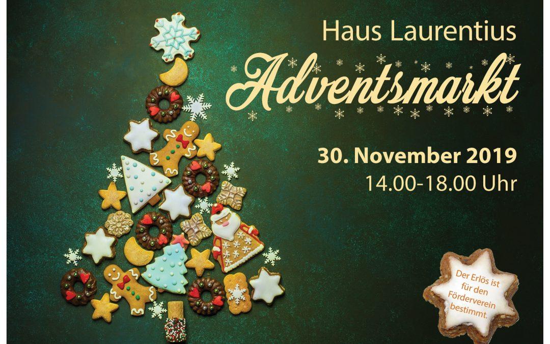 Adventsmarkt im Haus Laurentius: 30.11.2019