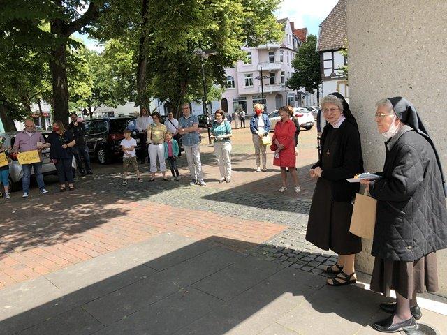 Schwester Judith-Maria verabschiedet