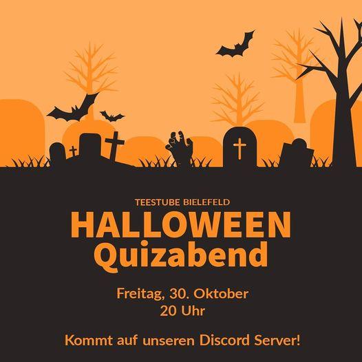 Teestube: Halloween-Quizabend am 30.10.2020 um 20.00 Uhr