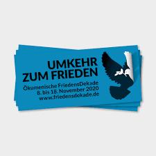 """Ökumenische Friedensdekade 2020 """"Umkehren zum Frieden"""""""