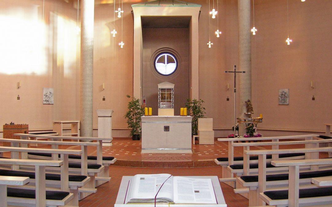 Kirchenschließung in Heilig Geist