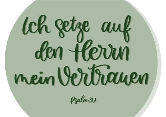 """""""Ich setze auf den Herrn mein Vertrauen"""" (Psalm 31,7)  Einladung zur Feier der Pastoralen Beauftragung"""