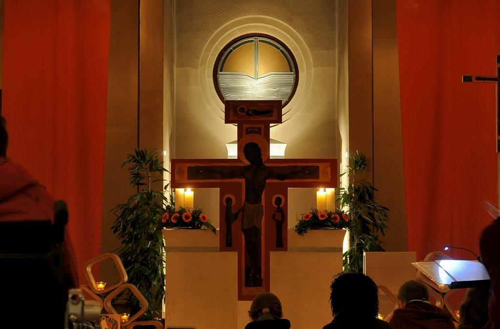 Nacht der Lichter in der Heilig Geist Kirche
