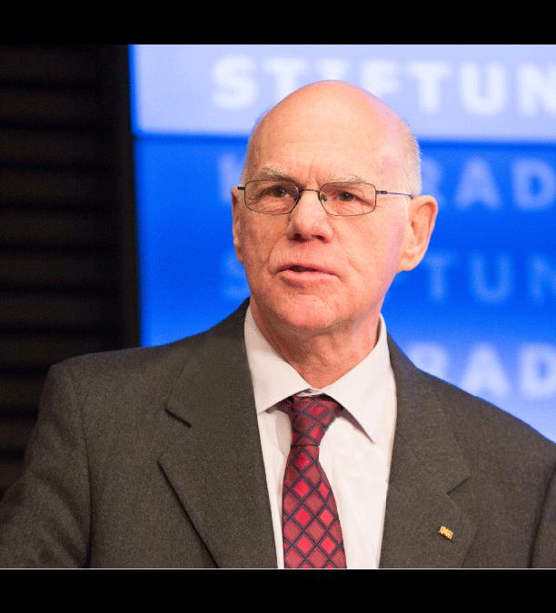 Vortrag mit Prof. Dr. Norbert Lammert fällt aus!