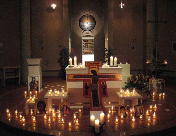 Die Nacht der Lichter in der Heilig Geist Kirche am 20.11.2020 entfällt!